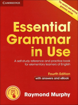 Essential Grammar in Use - Fourth Edition with answers and eBook (червена)